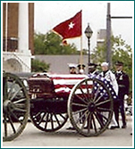 Charleston Coach provides horse drawn carriages for traditional funeral processionals.